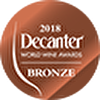 DECANTER 2018 - BRONZE